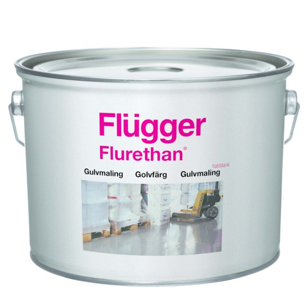 Flurethane Bodenfarbe grau 3L