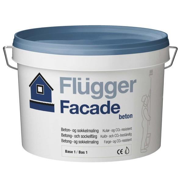 Flügger Fassadenfarbe Beton